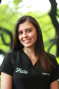 crystal hygienist at Austin General Dentistry
